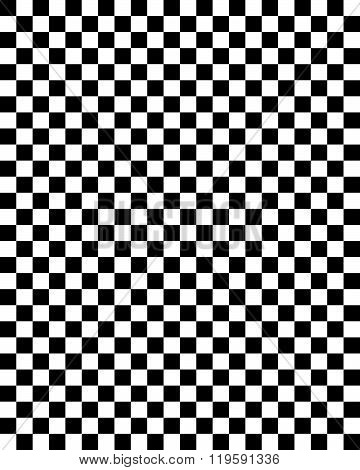 Vector Checkerboard Pattern