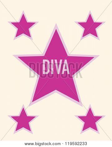 Vector Diva Star