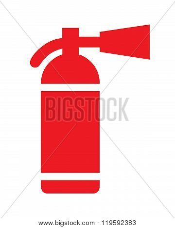 Vector Fire Extinguisher Graphic