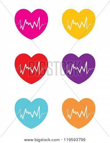 Heart Attack Symbol Set