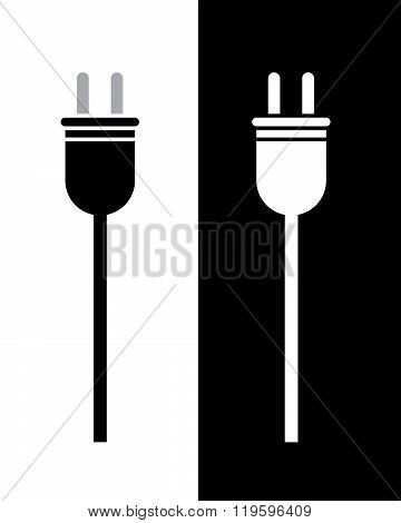 Vector Electrical Plug Set in Black and Reverse