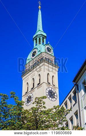 St. Peter's Church, Munich, Bavaria, Germany