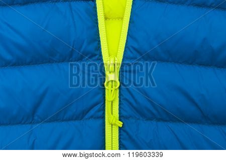 Jacket zipper