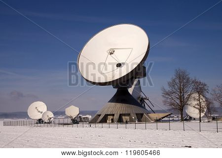 Satellite Earth Station Raisting