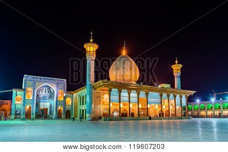 Shah Cheragh, a funerary monument and mosque in Shiraz -  Iran