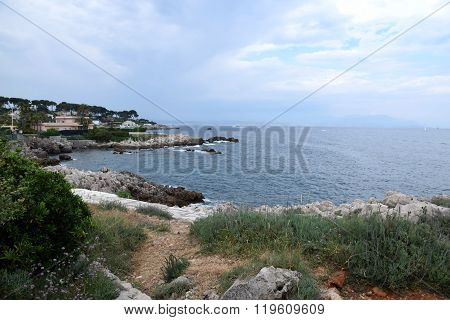 Sea In Antibes