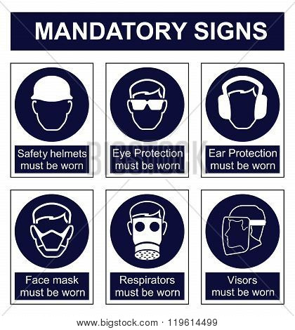 Mandatory Safety sign