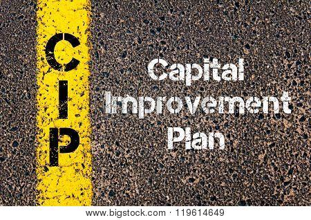 Business Acronym Cip Capital Improvement Plan