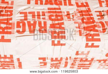 Fragile Packet Parcel Vintage