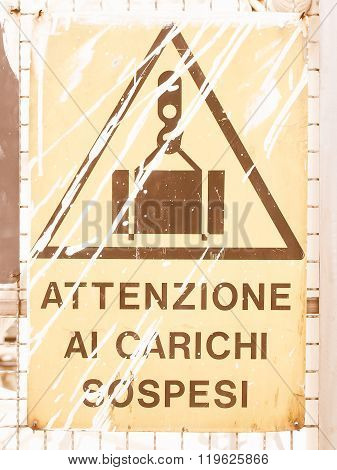 A Sign Vintage