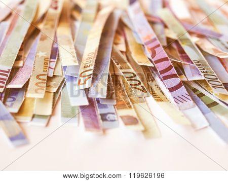 Euro Note Vintage