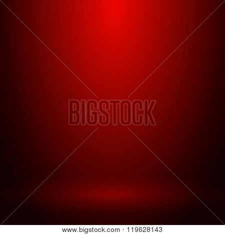 Red Background Of Gradient