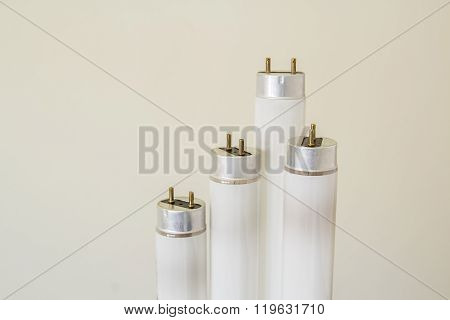 Selected Focus Fluorescent Light Tube