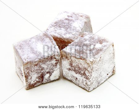Turkish delight lokum confection