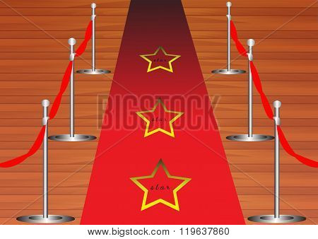 Red carpet for the stars
