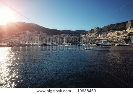 Monte Carlo City Panorama
