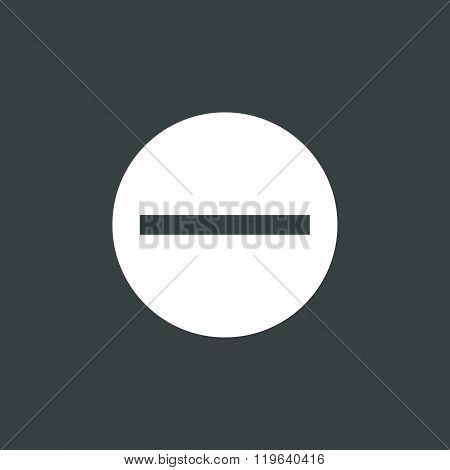 Minus Icon, Negative Symbol