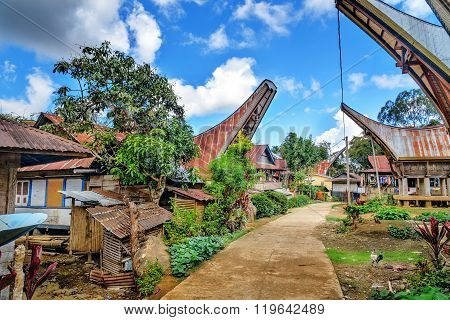 Lempo Village In Tana Toraja