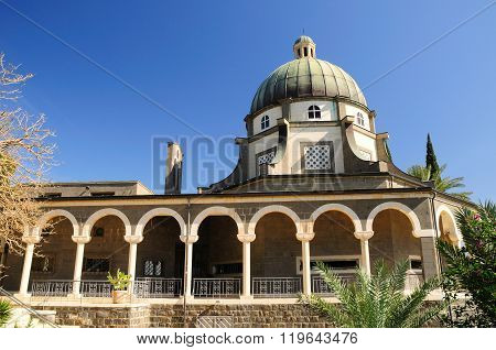 Church of beatitudes.