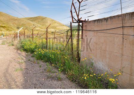 Israeli border.