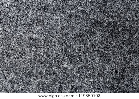 Texture Of Artificial Grey Felt