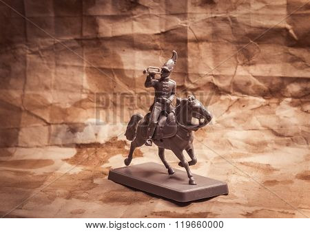 Figurine soldier, Russian dragoon