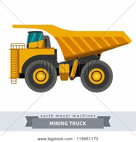 Mining Truck For Earthwork Operations