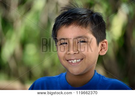 Smiling Latino Boy