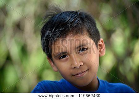 Headshot Of Latino Boy