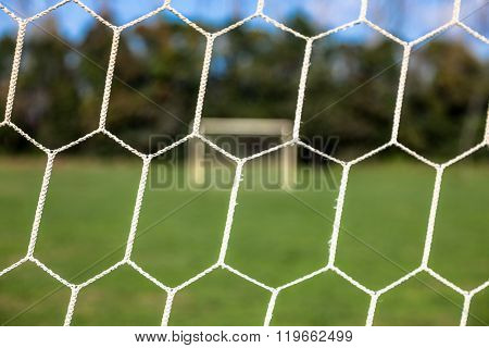 View From The Soccer Net