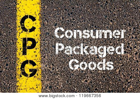 Business Acronym Cpg Consumer Packaged Goods