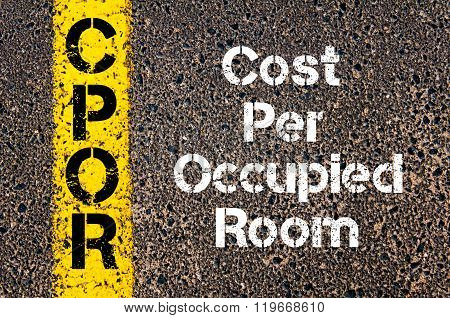 Business Acronym Cpor Cost Per Occupied Room