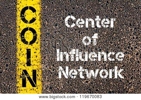 Business Acronym Coin Center Of Influence Network