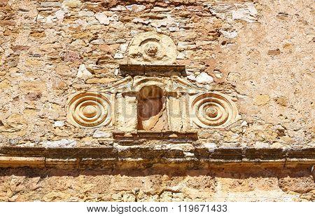 Moscardon church in Sierra Albarracin of Teruel Spain