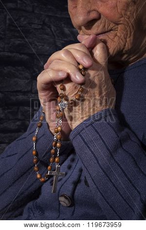 Grandmother Praying.