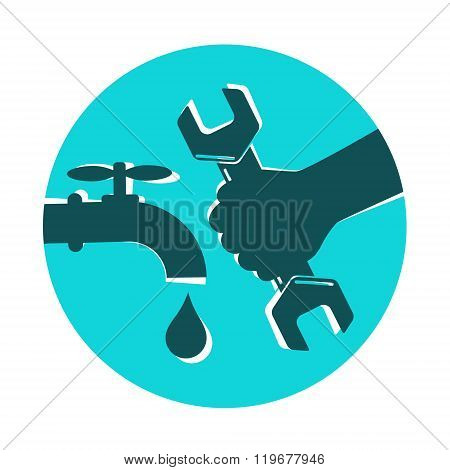 Repair waterpipe symbol