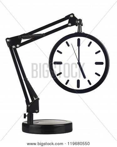 Clock With Arm