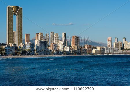 Benidorm Skyline. Spain