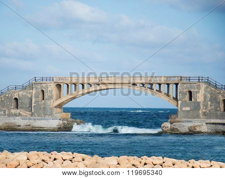 Bridge In Alexandria, Egypt