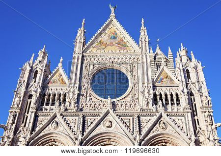 Siena Cathedral in Siena. Siena Tuscany Italy