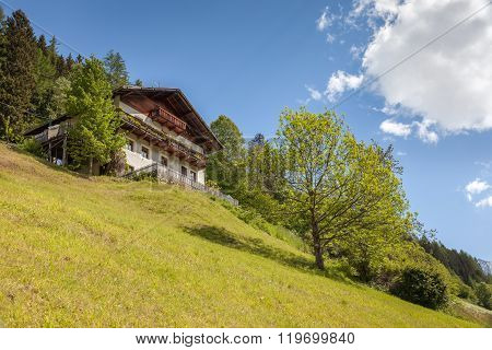 Mountain Farm In South Tyrol