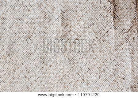 Old reed mat pattern