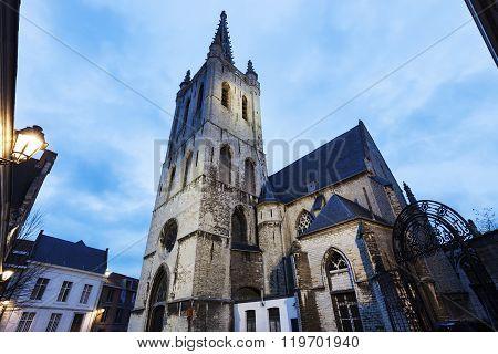 Sint Geertrui Church in Leuven. Leuven Flemish Region Belgium