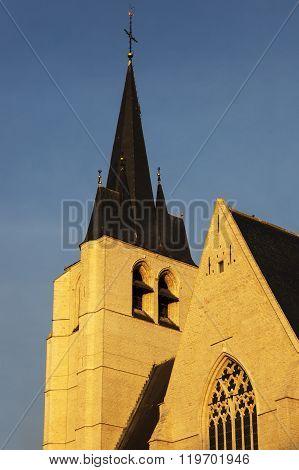 Saint John's Church in Mechelen. Mechelen Flemish Region Belgium