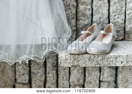 A child's wedding dress