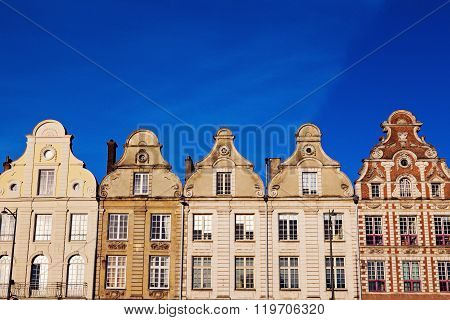 Architecture Of Place Des Heros In Arras