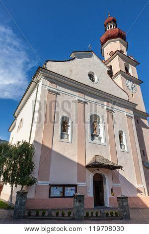 Parish Church In South Tyrol