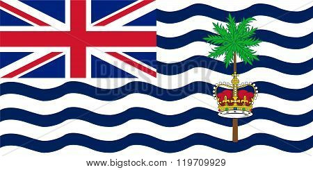 Standard Proportions For British Indian Ocean Territory Flag