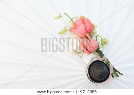 Bouquet of roses.