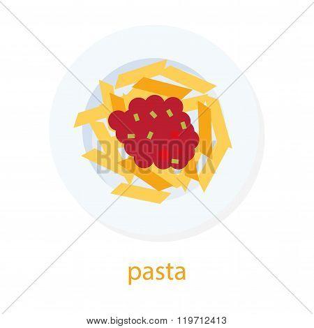 Iitalian dish - pasta